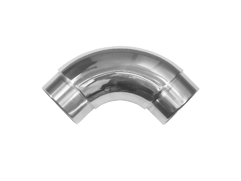 Отвод 90 гр. со вставками полир. 38,1 мм