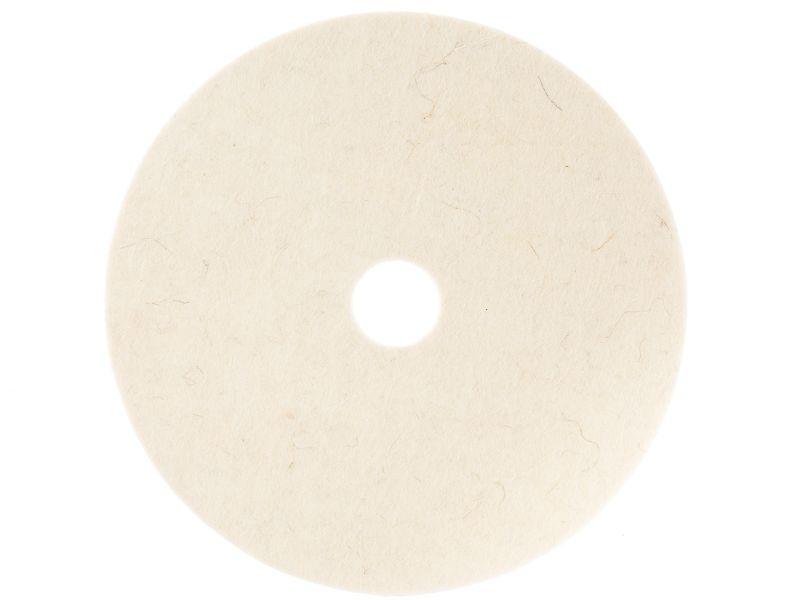 Круг торцевой полировальный войлок