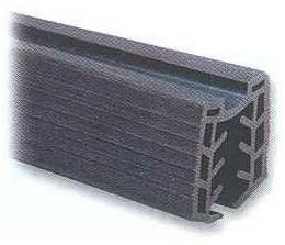 Уплотнитель для поручня 42,4 мм, стекло 10-13,5 мм