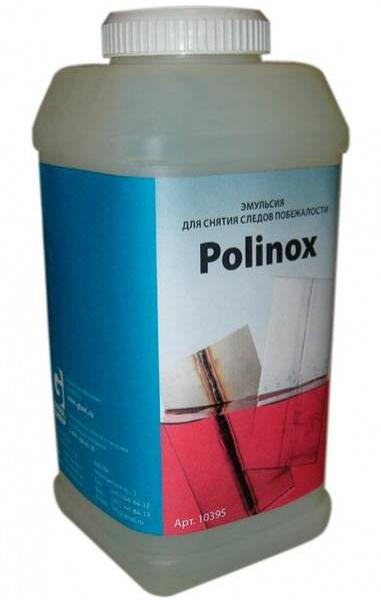 Эмульсия для снятия следов побежалости POLINOX (1кг)