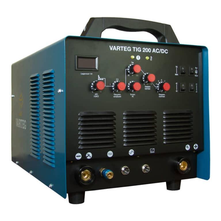 Сварочный инвертор VARTEG TIG 200 AC/DC для аргонодуговой сварки