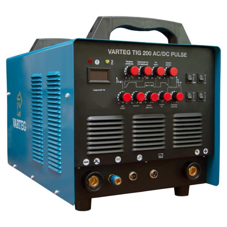 Сварочный инвертор VARTEG TIG 200 AC/DC PULSE для аргонодуговой сварки