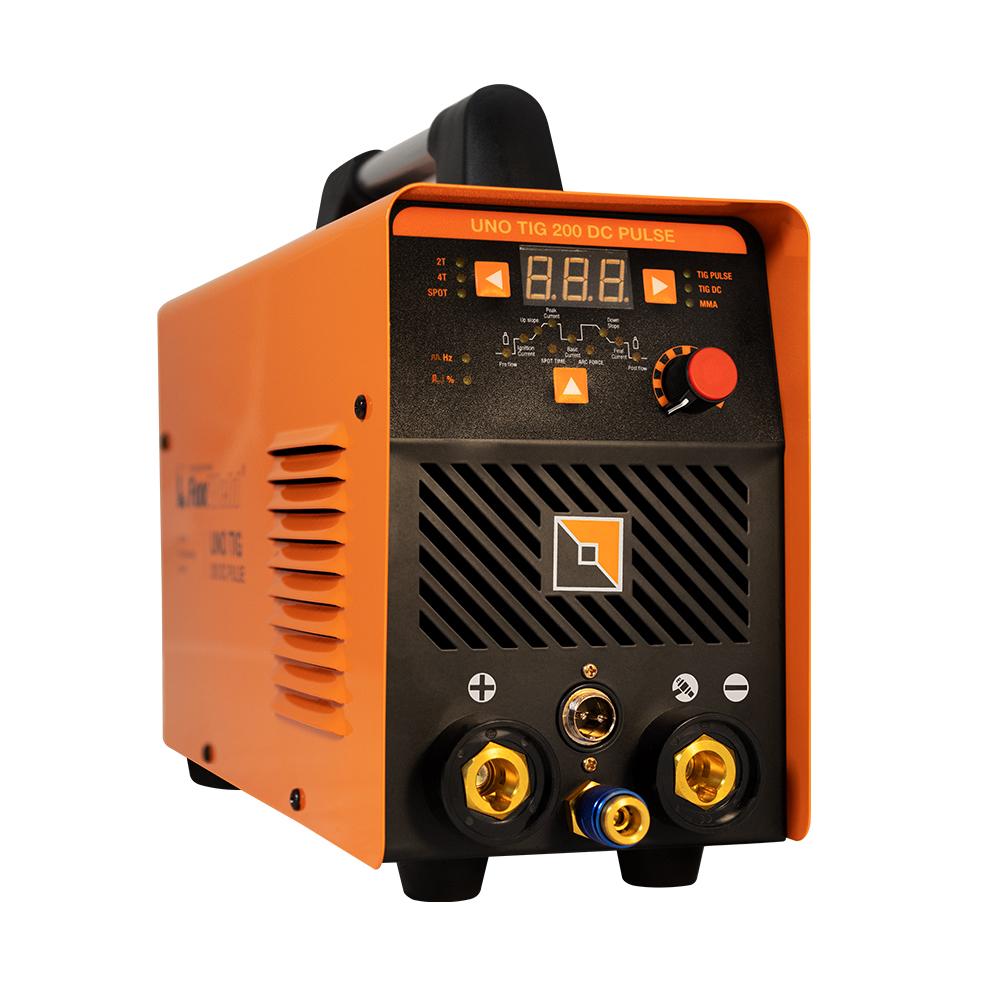 Сварочный аппарат UNO TIG 200 DC Pulse для аргонодуговой сварки