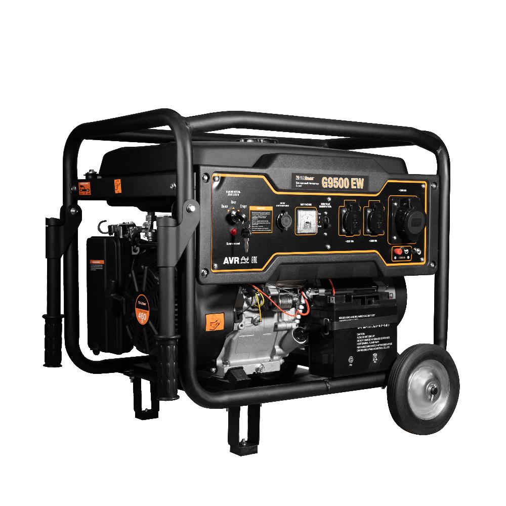 Бензиновый генератор FoxWeld Expert G9500 EW
