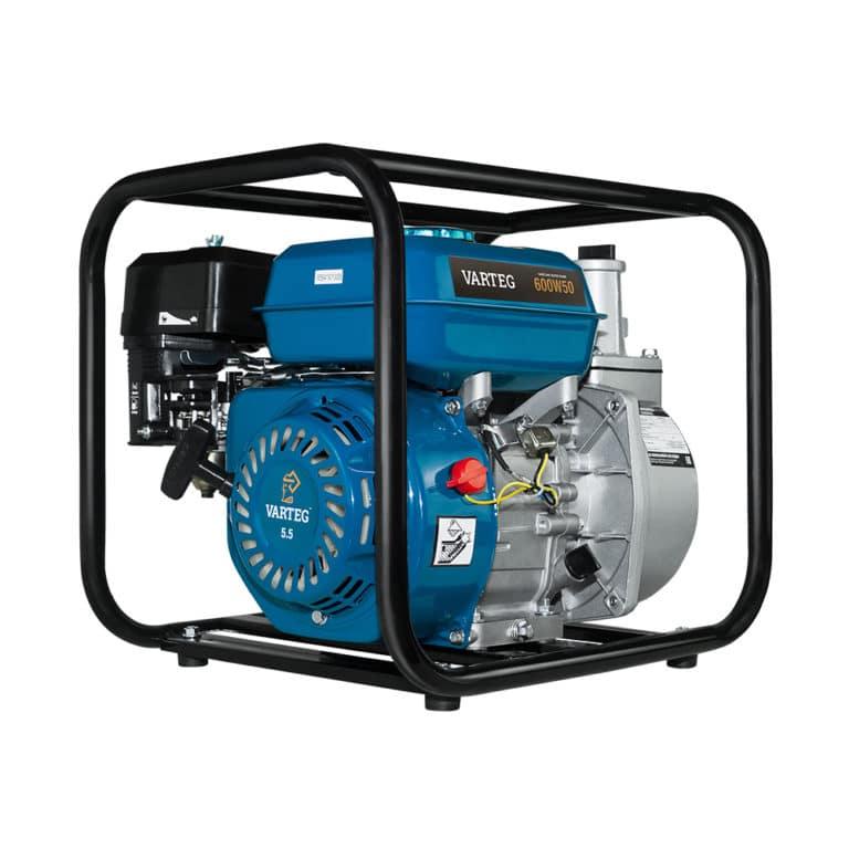 Мотопомпа бензиновая VARTEG 600W50