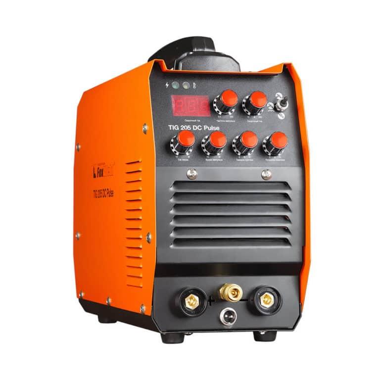 Сварочный инвертор FOXWELD TIG 205 DC PULSE для аргонодуговой сварки